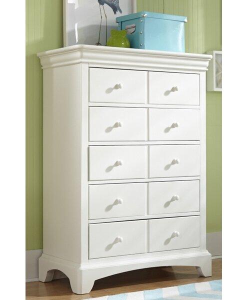 Crawfordville 5 Drawer Double Dresser by Harriet Bee
