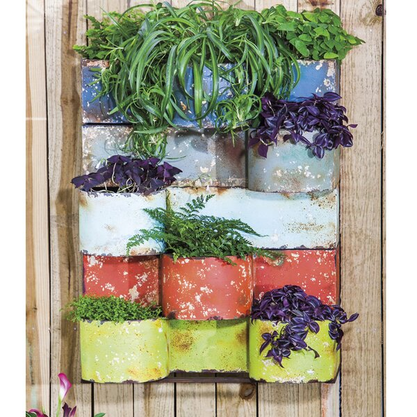 Metal Wall Planter by Evergreen Enterprises, Inc