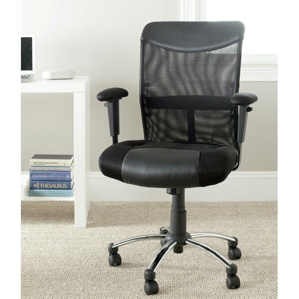 Bernard Mesh Desk Chair by Safavieh