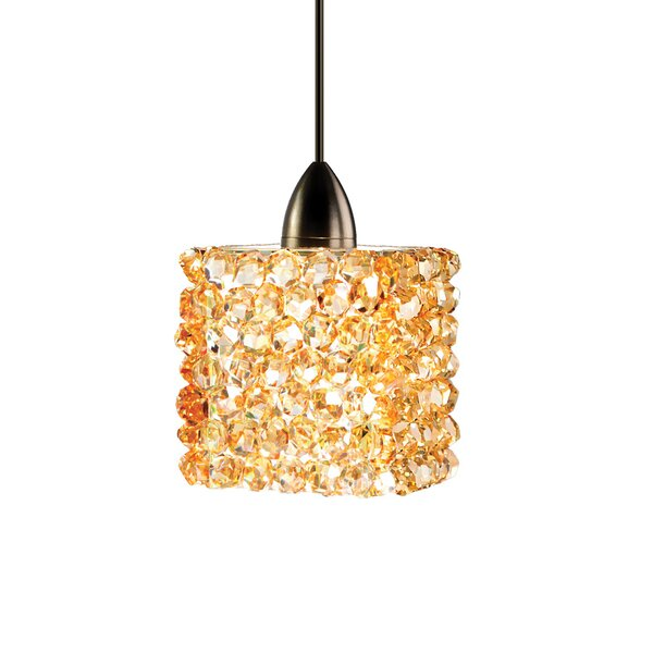 Haven Quick Connect 1-Light Square/Rectangle Pendant by WAC Lighting