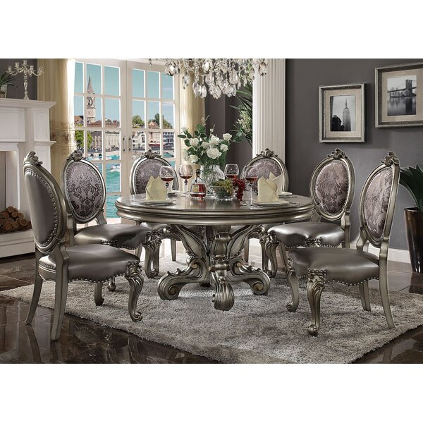 Charlene 7 Pieces Dining Set by House of Hampton