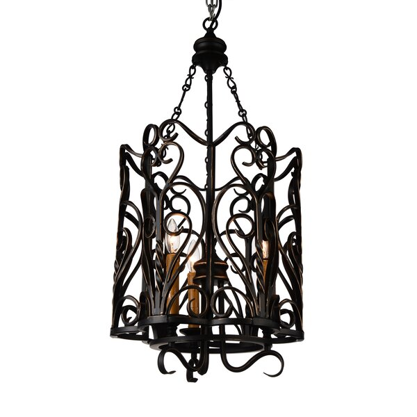 Seng 3 - Light Lantern Rectangle Chandelier By House Of Hampton