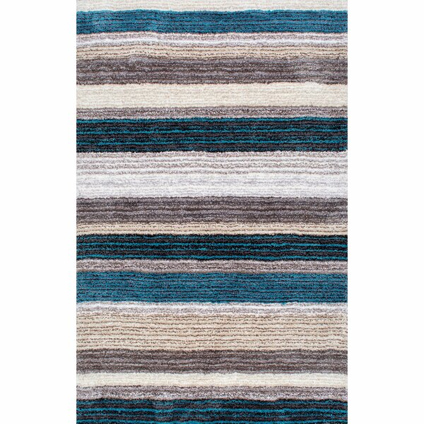 Weeden Hand-Tufted Blue/Brown Area Rug by George Oliver