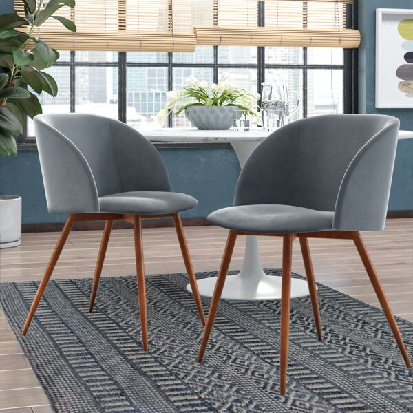 Corinne Upholstered Dining Chair (Set of 2) by Modern Rustic Interiors