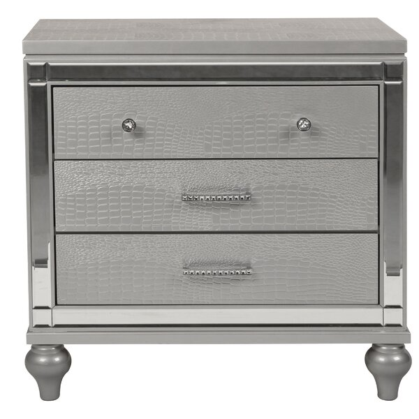 Ferri 3 Drawer Nightstand By House Of Hampton