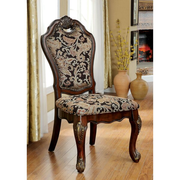 Bartz Traditional Solid Wood Dining Chair (Set Of 2) By Astoria Grand