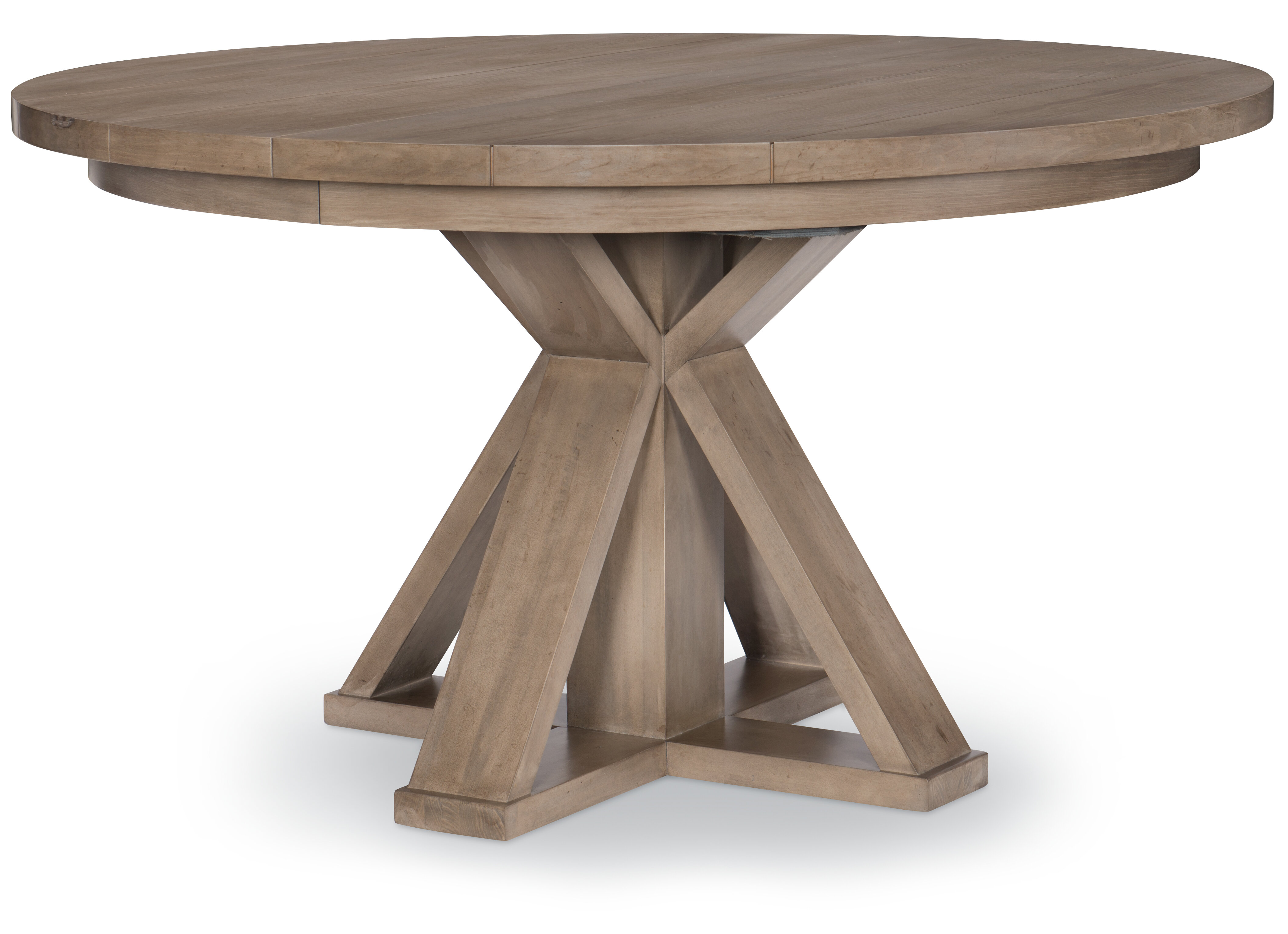 Midville Complete Round Extendable Dining Table