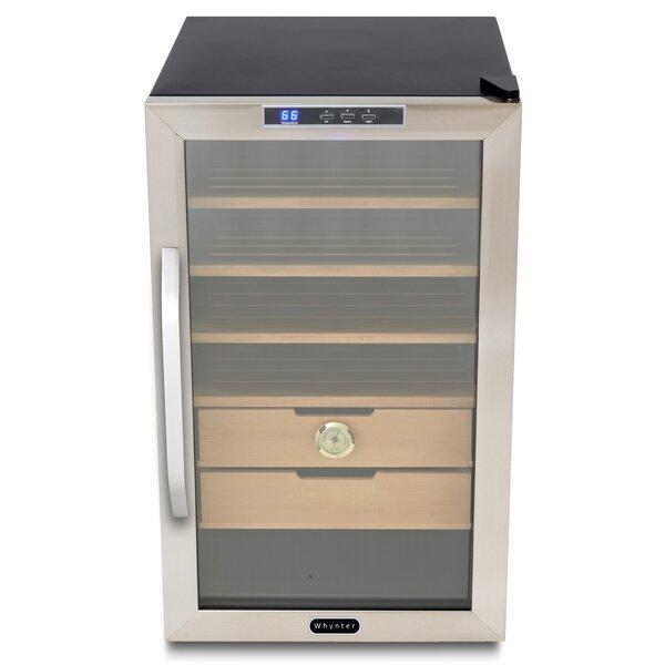 Cigar Freestanding Humidor Refrigerator by Whynter