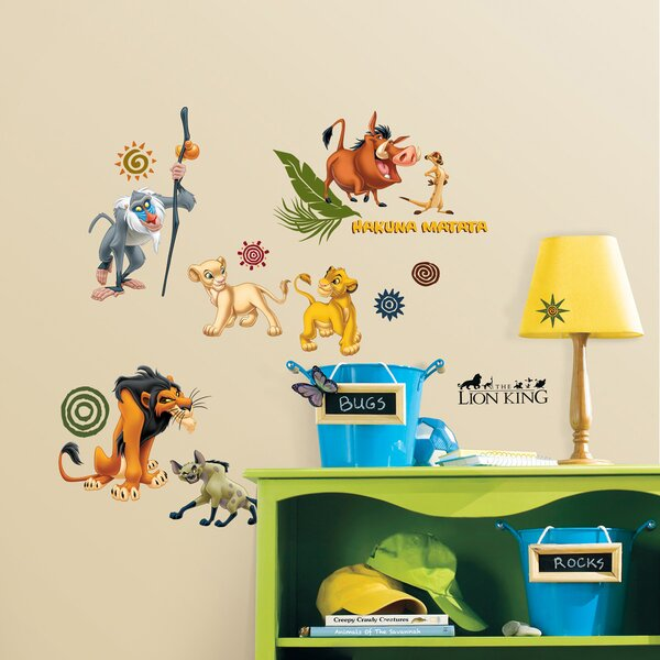 Disney The Lion King Mega-Pak Room Makeover Wall Decal by Wallhogs