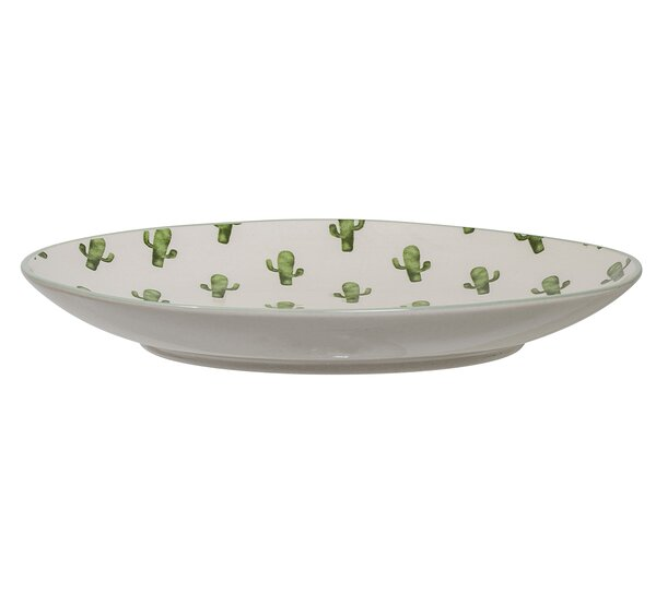 Fountain 8 Dinner plate (Set of 4) by Bungalow Rose