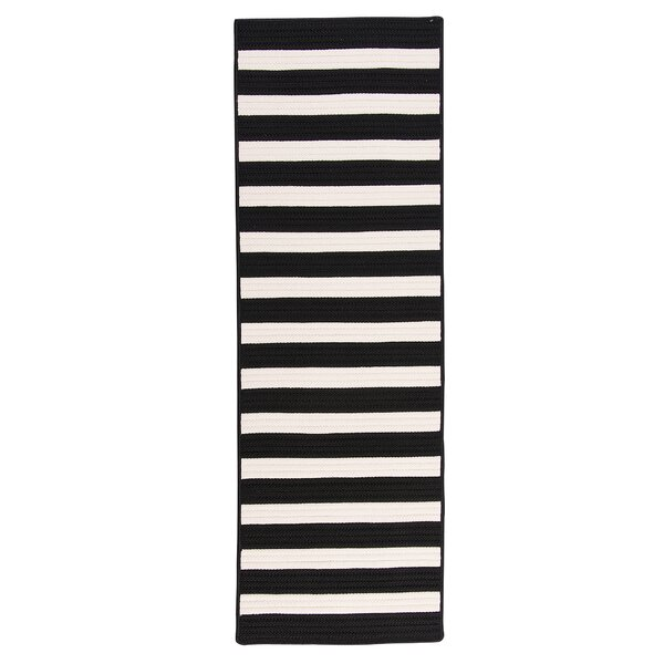 Cosey Braided Black/White Rug