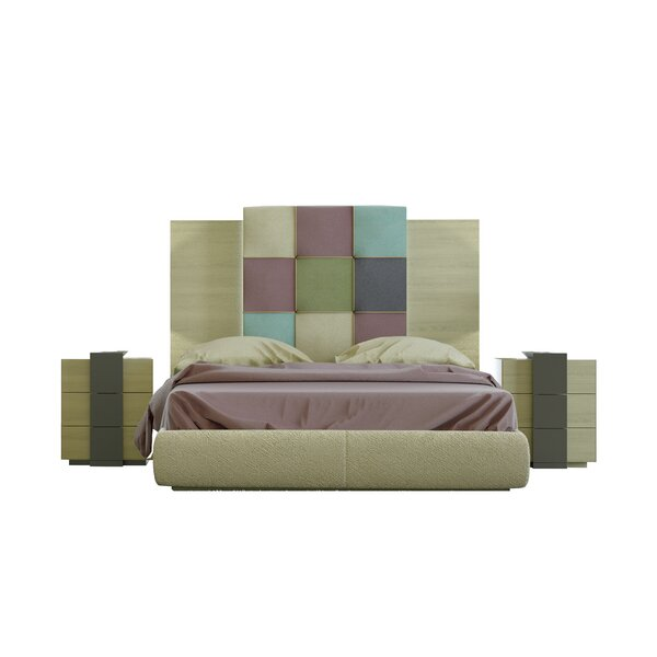 Rone Queen Platform 4 Piece Bedroom Set by Brayden Studio