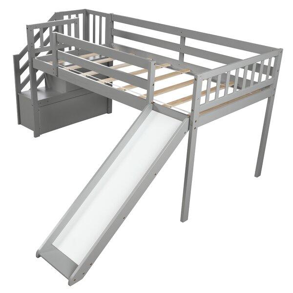 Mandie Twin Low Loft Bed by Harriet Bee Harriet Bee