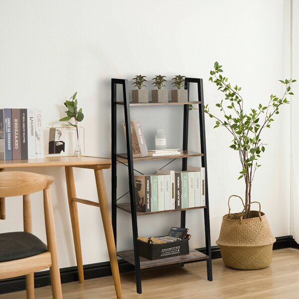 Ilaria Display Rack Ladder Bookcase By Gracie Oaks