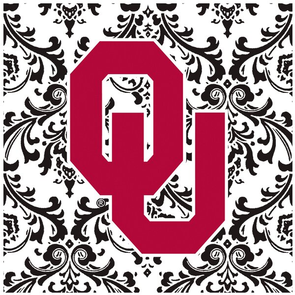 University of Oklahoma Square Occasions Trivet by Thirstystone