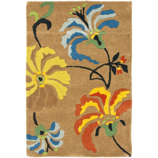 Armstrong Brown Area Rug by Winston Porter