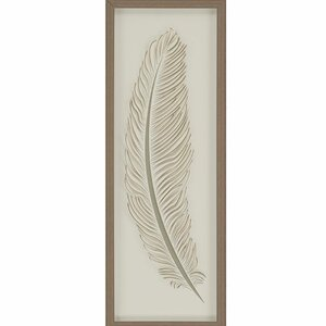 Feather 1 by Malanta Knowles Framed Graphic Art by Paragon