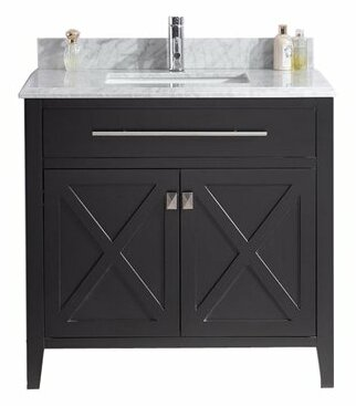 Wimbledon 36 Single Bathroom Vanity Set by Laviva