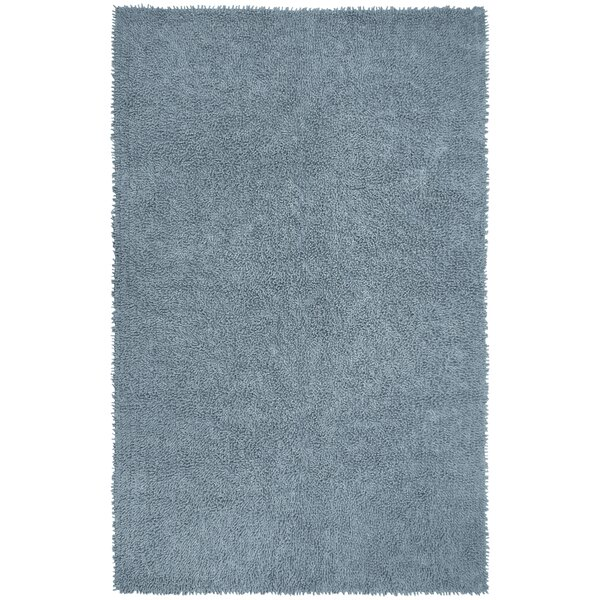 Baugh Shag Chenille Gray Area Rug by Ebern Designs