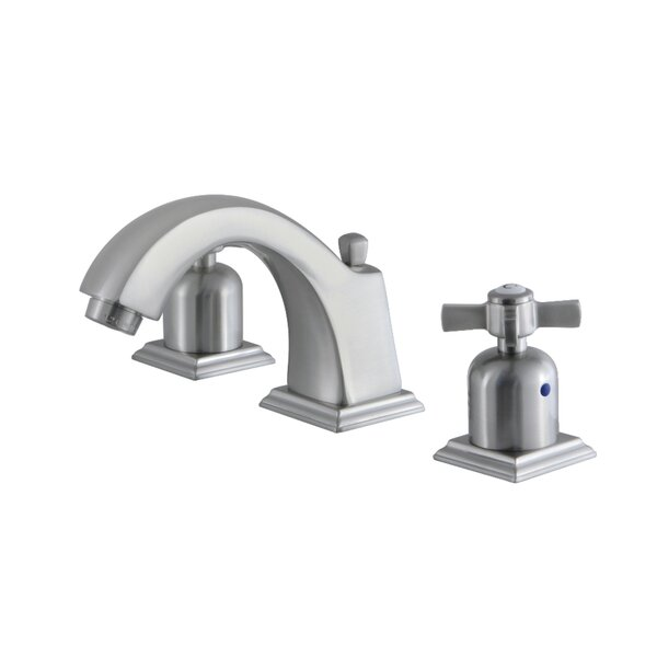 Millennium Widespread Bathroom Faucet with Drain Assembly by Kingston Brass Kingston Brass