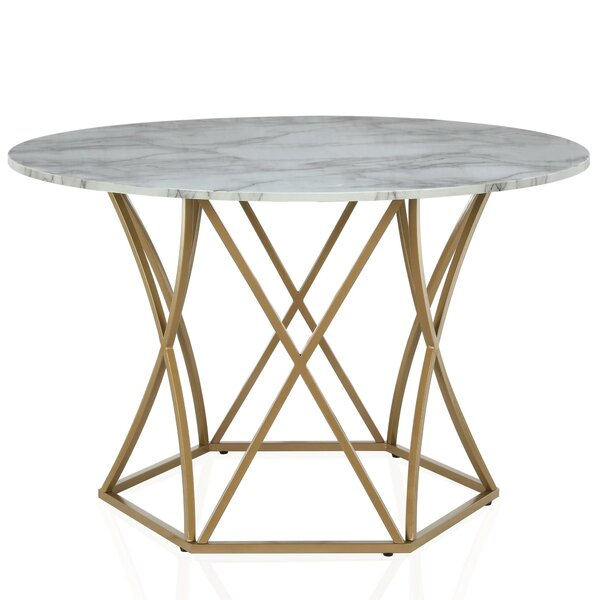 Elle Dining Table by CosmoLiving by Cosmopolitan