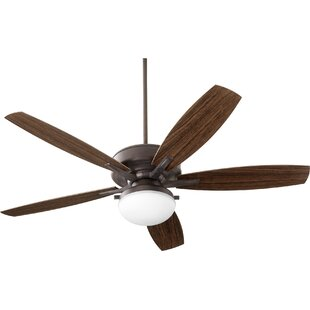 Best Reviews 60 Melina 5 Blade Ceiling Fan with Remote By Alcott Hill