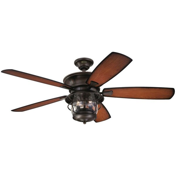 52 Quebec 5 Blade Ceiling Fan by Loon Peak