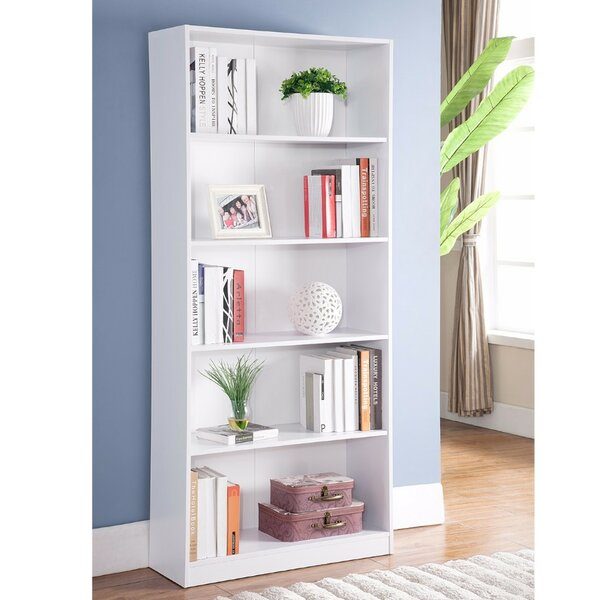Dipalma Minimalistic Yet Stylish Standard Bookcase by Latitude Run