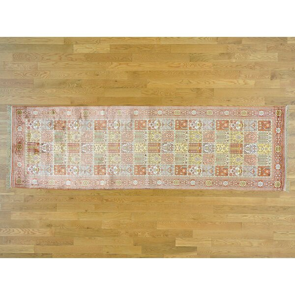 One-of-a-Kind Beauchamp Design Hand-Knotted Silk Area Rug by Isabelline