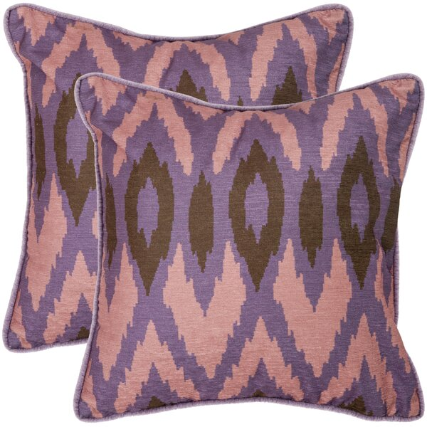 Easton Throw Pillow (Set of 2) by Safavieh