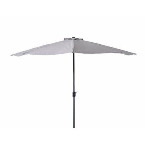 29m W X 15m D Half Round Parasol Freeport Park Colour Grey