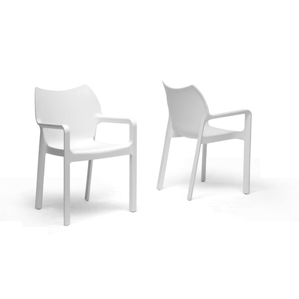 Calla Arm Chair (Set of 2) by Latitude Run
