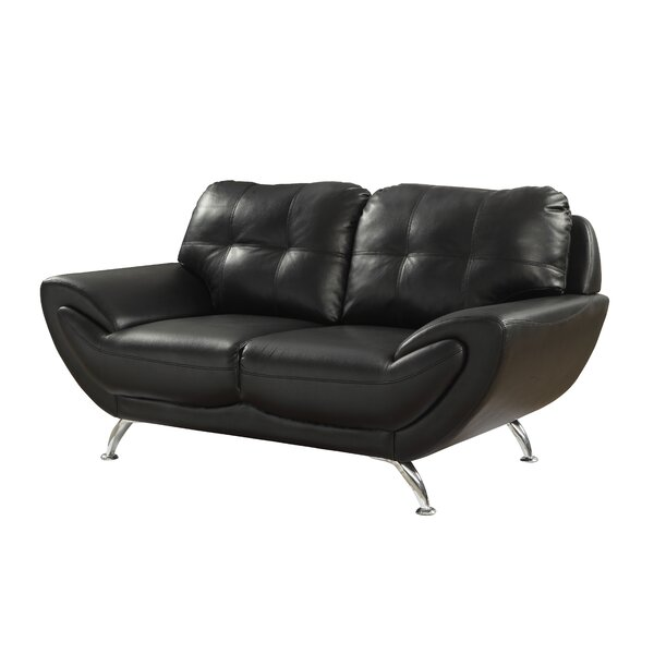 Diez Contemporary Loveseat By Wrought Studio Best Choices