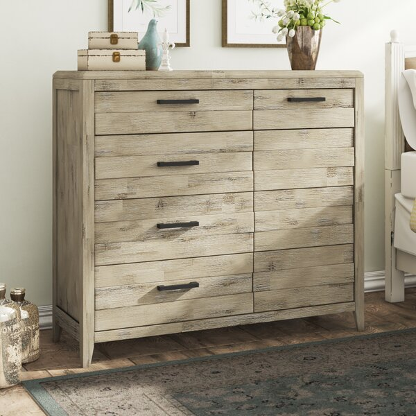 Descartes 4 Drawer Combo Dresser by Laurel Foundry Modern Farmhouse