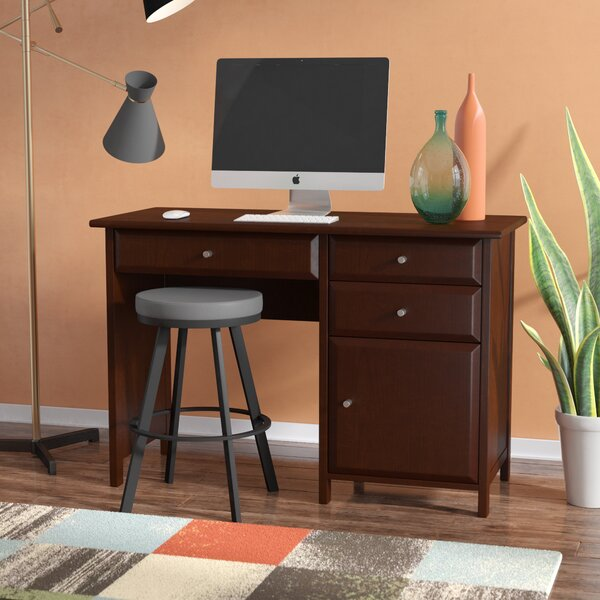 Gifford Rectangular Writing Desk by Three Posts