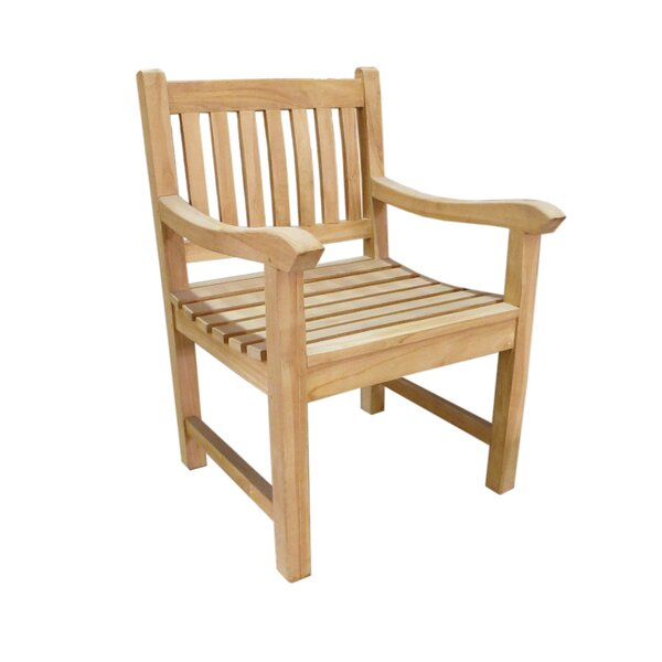 Riverside Teak Patio Chair by D-Art Collection