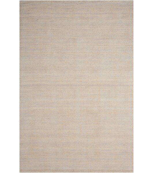 Grand Suite Ottoman Hand-Woven Sterling Area Rug by Waverly