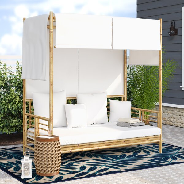 Aubrie Canopy Daybed by Beachcrest Home