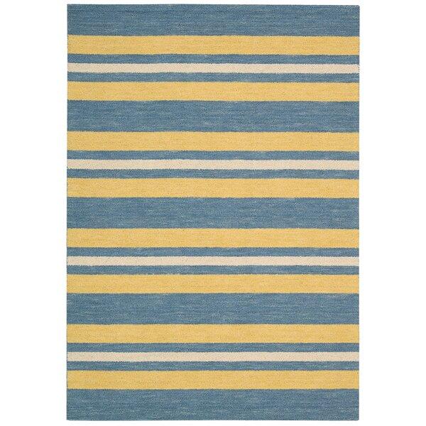 Oxford Handmade Blue/Yellow Area Rug by Barclay Butera