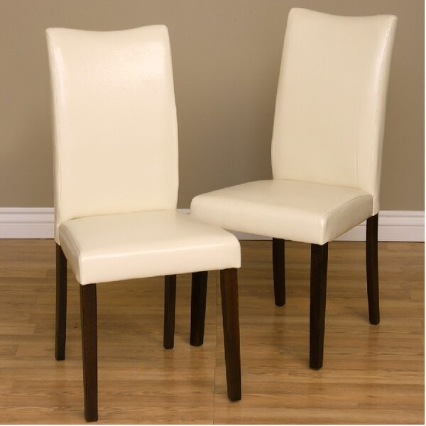 Shino Dine Upholstered Dining Chair (Set of 2) by Warehouse of Tiffany Warehouse of Tiffany