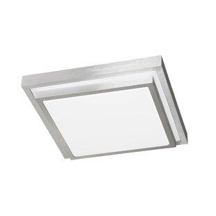 Square bathroom ceiling lights wayfair halden 1 light ceiling light mozeypictures Gallery
