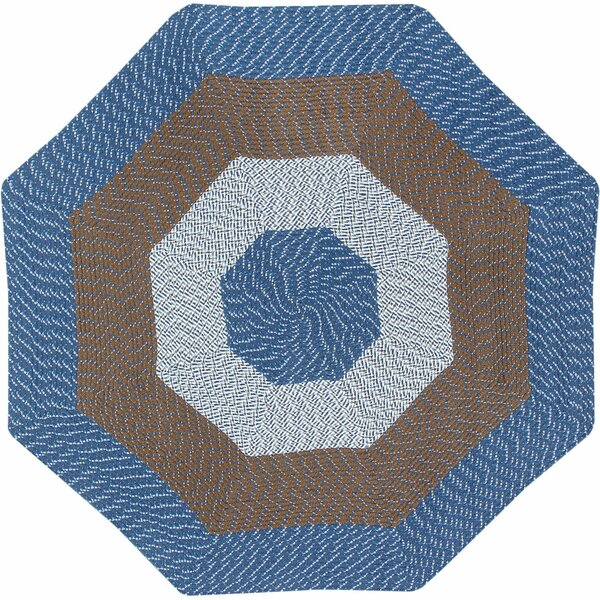 McClure Stripe Chambray Area Rug by August Grove