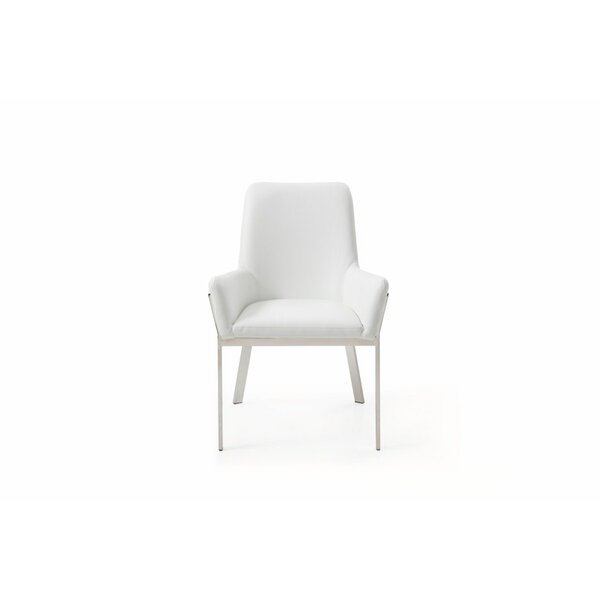 Skye Bonded Upholstered Dining Chair by Orren Ellis Orren Ellis