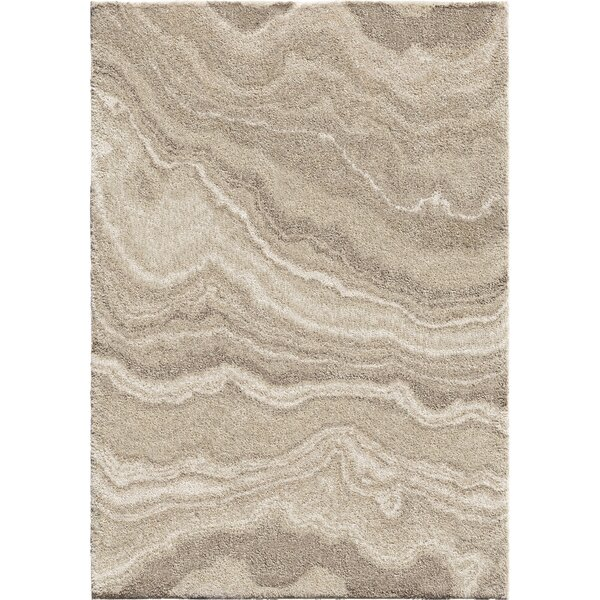 Greenpoint Plush Ivory Area Rug by Williston Forge