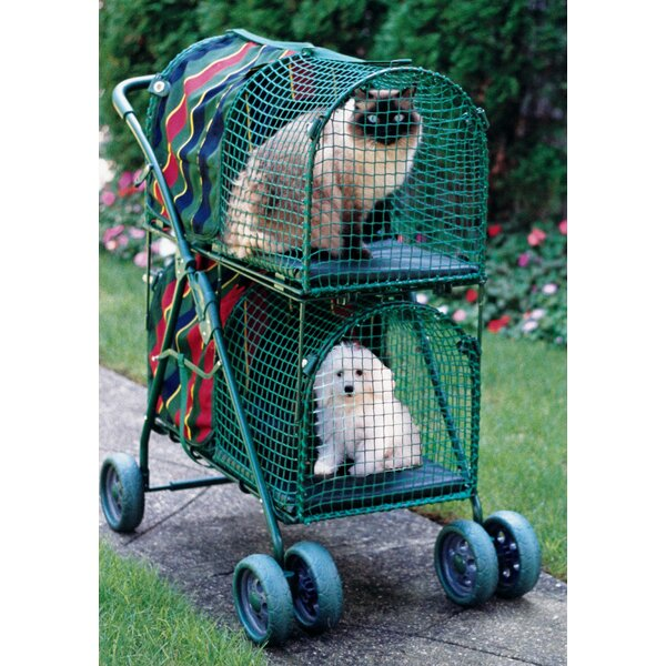 Double Decker Standard Pet Stroller by Kittywalk Systems