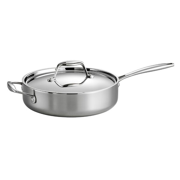 Gourmet 3 Qt. Saute Pan with Lid by Tramontina