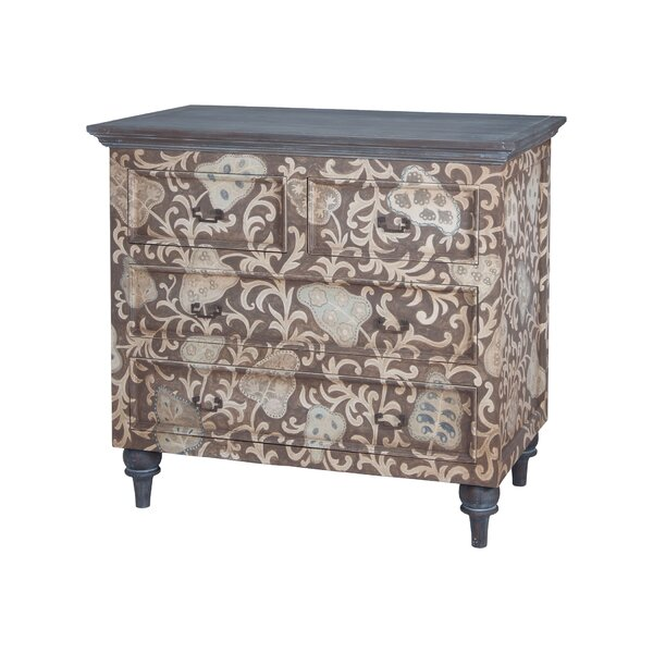 Giancarlo 4 Drawer Accent Chest by Bungalow Rose