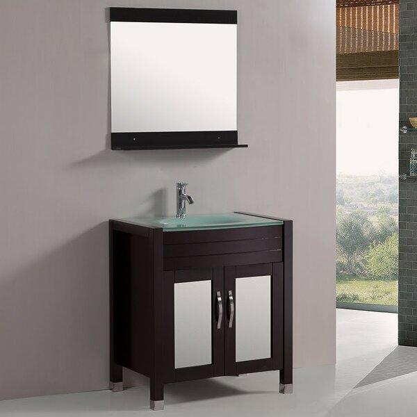 30 Single Bathroom Vanity Set with Mirror by Kokols| @ $829.99