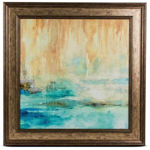 'Through the Mist II' Framed Painting Print by Crystal Art Gallery