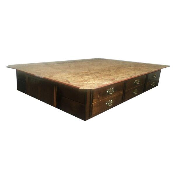 Savanna Premium Solid Pine Waterbed Mattress Top by Strobel Mattress